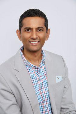 Headshot of Shivram Vaideeswaran.