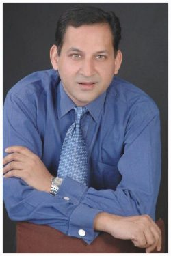 Headshot of Pushpendra Mehta.