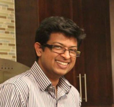 Headshot of Adishesh Iyengar.